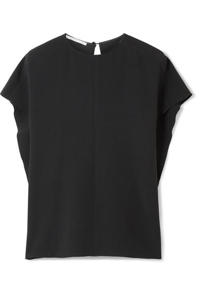 Um Online Stella McCartney Drapierte Oversized-Bluse aus Cady Freiheit Ausgezeichnet Preiswerte Reale Finish Billig Verkauf Angebote ml2Gz8w5m