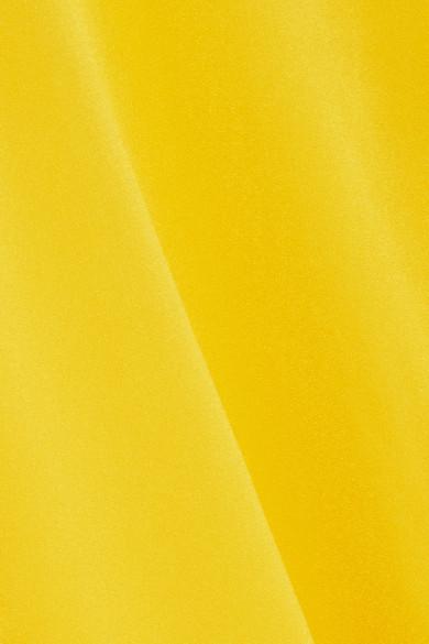 Stella McCartney Asymmetrisches Oberteil aus Cady