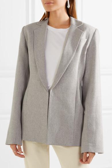 Georgia Alice Oversized-Blazer aus einer Wollmischung