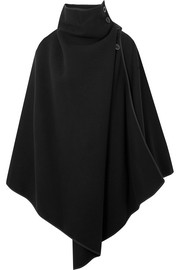 Chloé Oversized wool-blend cape