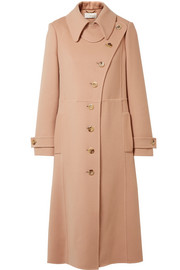 Wool and cashmere-blend trench coat