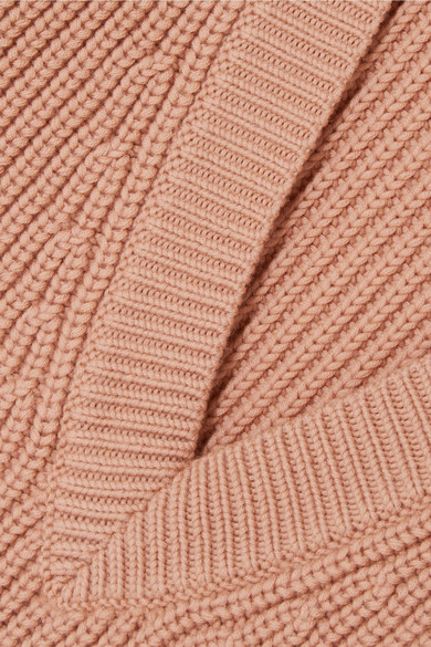 Chloé Pullover aus gerippter Wolle