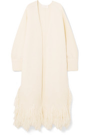 Chloé Fringed wool cardigan