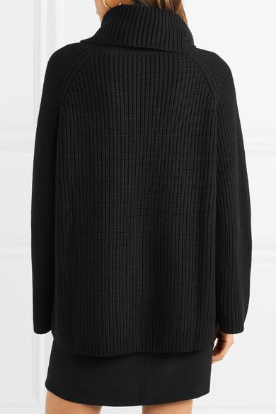 Chloé Rollkragenpullover aus Wolle in Oversized-Passform