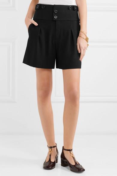 Chloé Shorts aus Cady