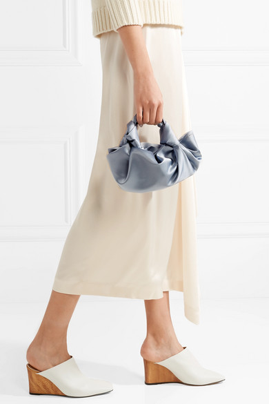 The Row. Ascot small satin tote 4d0e4beea9627