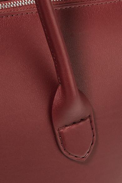 The Row Lux Tote aus Leder Rabatt-Shop Für Günstig Kaufen Angebot Billige Sneakernews Niedrige Versandgebühr Verkauf Online Eastbay Günstigen Preis kUuNlP