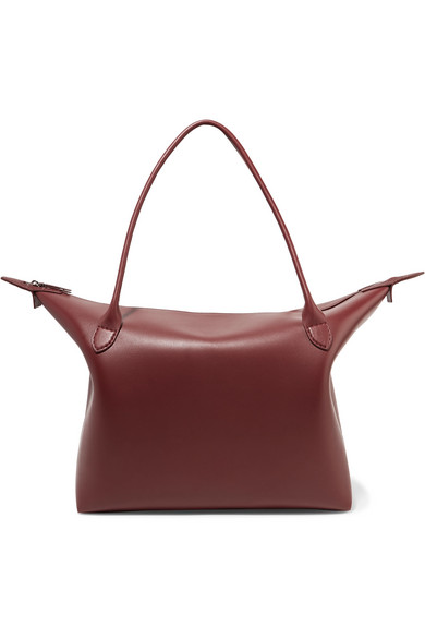 Lux Leather Tote by The Row