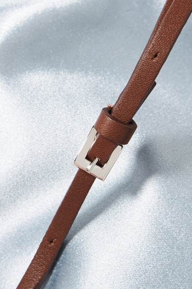 The Row Medicine Schultertasche aus Satin