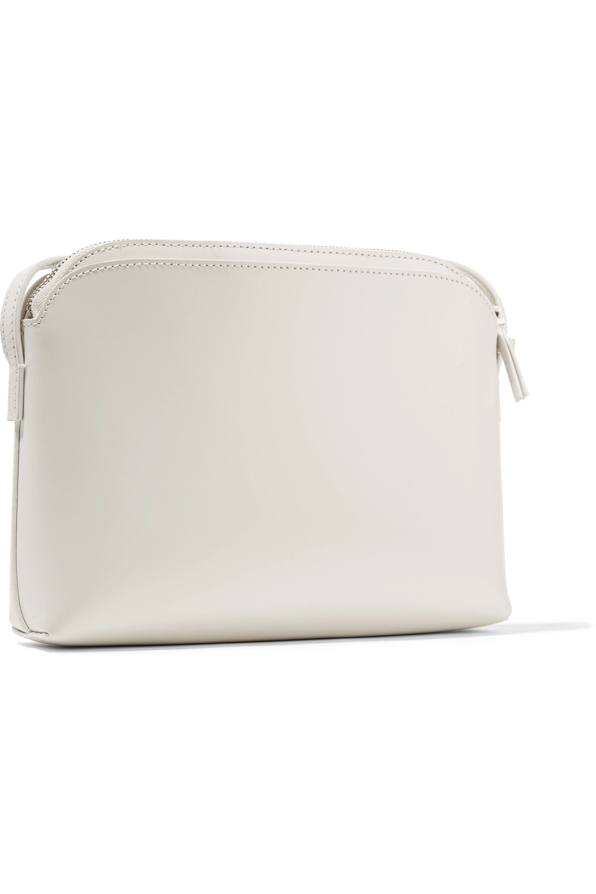 The Row Multi Pouch leather shoulder bag