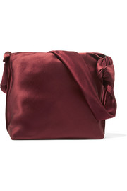 The Row Wander small satin shoulder bag