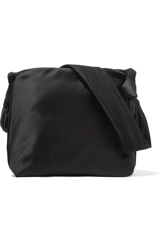 The Row Wander small satin shoulder bag