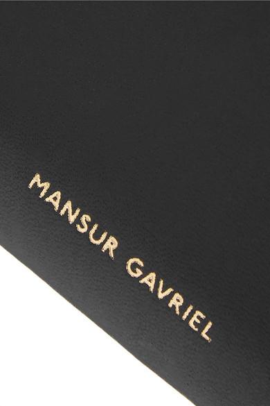 Mansur Gavriel Kartenetui aus Leder