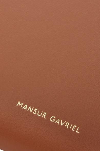 Mansur Gavriel Moon Portemonnaie aus Leder