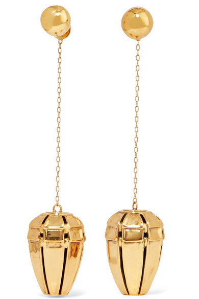 Ellery - Varment Gold-plated Earrings