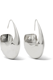 Ellery Shultz Saddle silver earrings