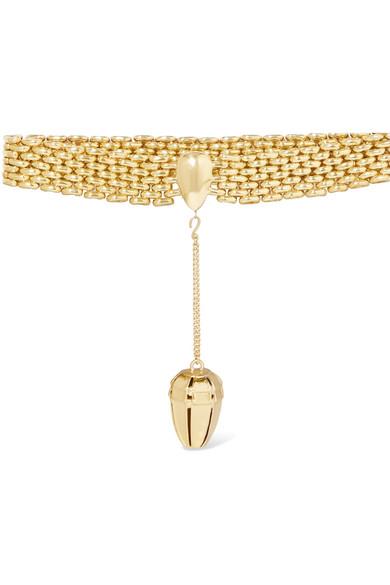 Ellery - Goner Gold-plated Choker