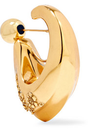 Chisolm gold-plated earring