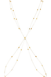 Arme De L'Amour Gold-plated body chain