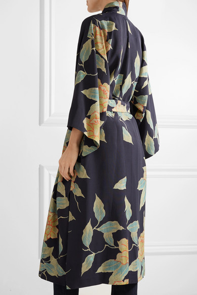 Elizabeth And James Zoe Jacket In Twill With Floral Print