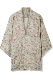 Elizabeth and James Drew floral-print chiffon jacket