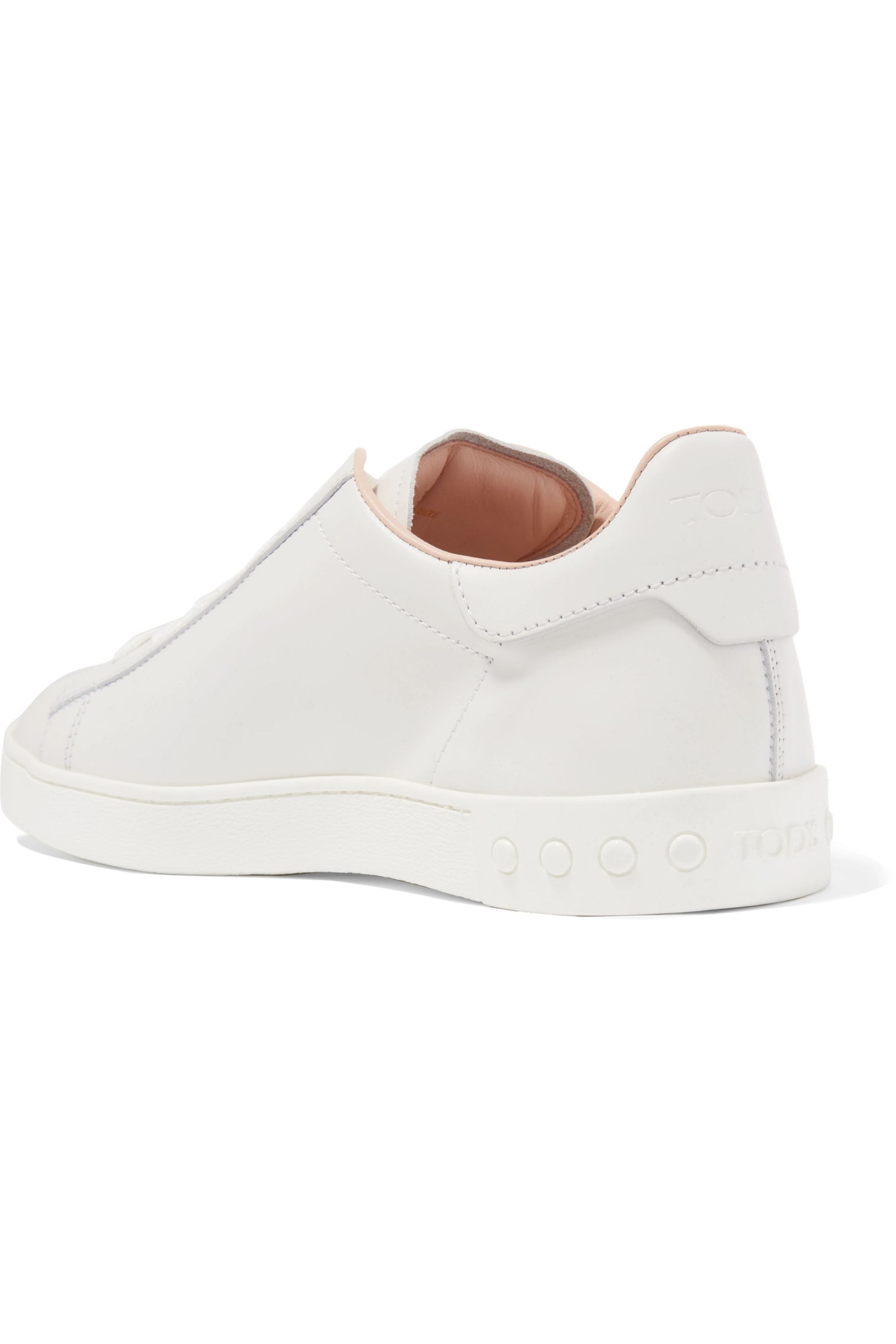 Tod's Logo-embellished leather sneakers