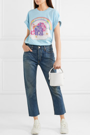 Moschino + My Little Pony printed cotton-jersey T-shirt