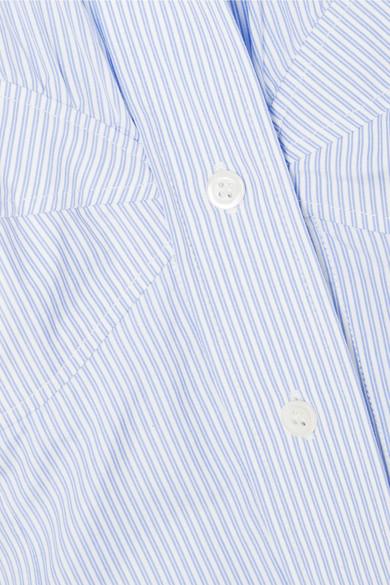 Countdown-Paket Günstig Kaufen Brandneue Unisex ALEXACHUNG Midikeid aus gestreifter Baumwollpopeline Billig Online-Shop Manchester Günstig Kaufen Zuverlässig Spielraum Niedrigsten Preis 8gDLou