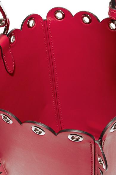 Miu Miu Verzierte Beuteltasche aus Leder