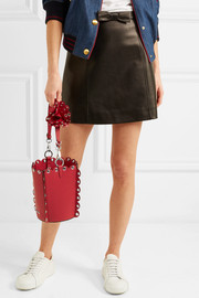 Miu Miu Embellished leather bucket bag