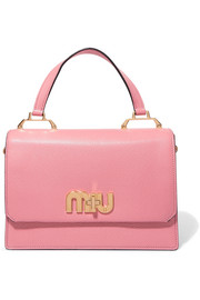 Miu Miu My Miu textured-leather tote