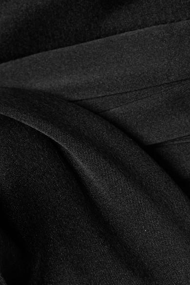 Alice + Olivia Deidra Truncated Uppers Of A Silk Blend