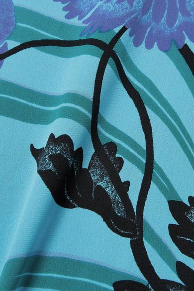 Diane von Furstenberg Bedrucktes Maxikleid aus einer Seidenmischung