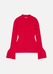 Diane von Furstenberg Stretch-knit top
