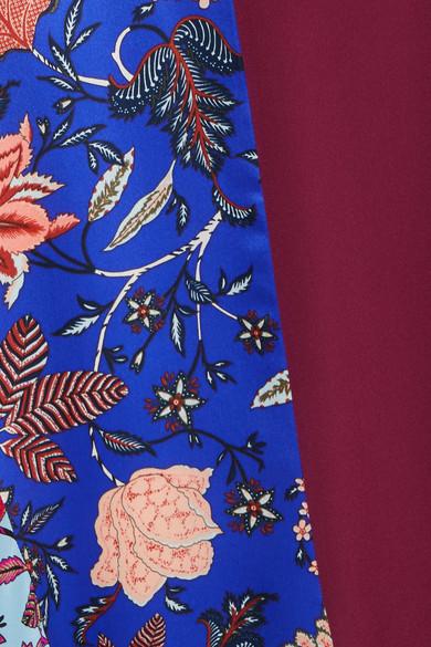 Diane von Furstenberg Asymmetrischer Seidenrock aus bedrucktem Crêpe de Chine Neuester Günstiger Preis Wirklich Günstiger Preis Verkauf Fälschung Spielraum Mode-Stil Visa-Zahlung SDhthkZ