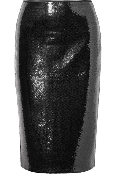 Diane von Furstenberg Tüllrock mit Pailletten