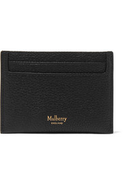Mulberry Textured-leather cardholder