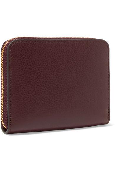 Mulberry Portemonnaie aus strukturiertem Leder
