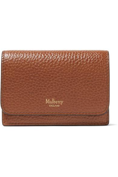 Mulberry Kartenetui aus strukturiertem Leder