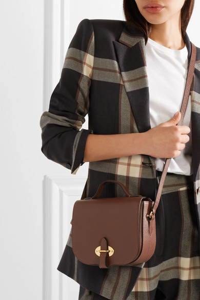 a08fbba317 Tenby small textured-leather shoulder bag