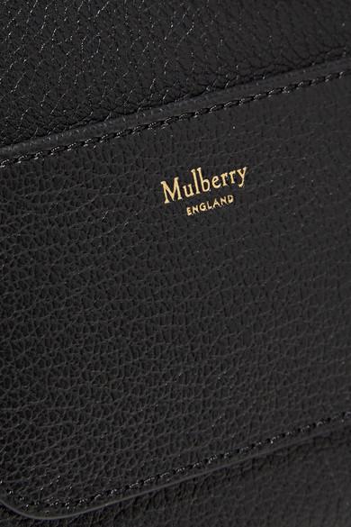 Mulberry Tenby kleine Schultertasche aus strukturiertem Leder