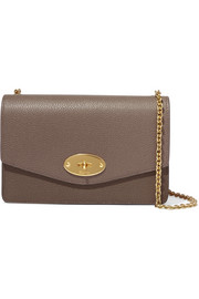 Darley small textured-leather shoulder bag