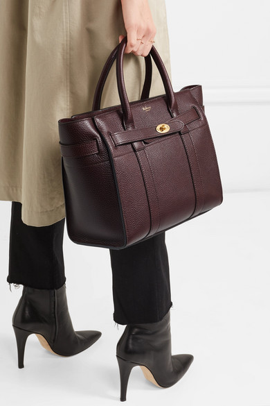 d825f9d319c ... discount code for mulberry. the bayswater zipped small textured leather  tote. 1350. zoom