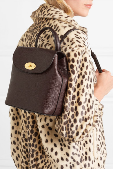 9c96e2840b188 Mulberry | Bayswater mini textured-leather backpack | NET-A-PORTER.COM