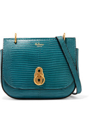 Amberley mini lizard-effect leather shoulder bag