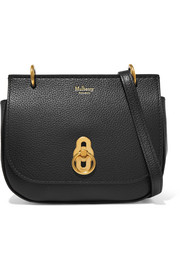 Amberley mini textured-leather shoulder bag