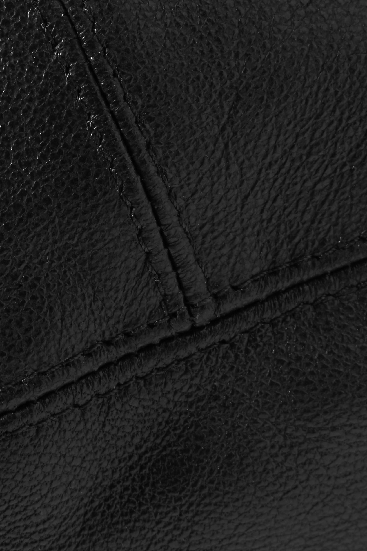 Eugenia Kim Mischka leather beret