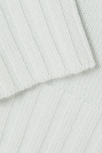 Vince Pullover aus einer Woll-Kaschmirmischung mit asymmetrischer Schulterpartie