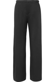 Vince Satin-crepe wide-leg pants