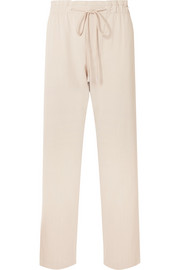 Vince Stretch-crepe straight-leg pants